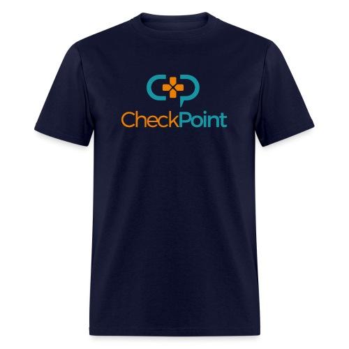 CheckPoint Logo - Men's T-Shirt