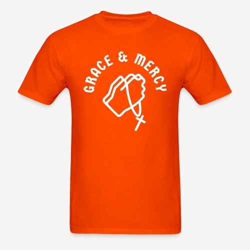 GRACE AND MERCY - Men's T-Shirt