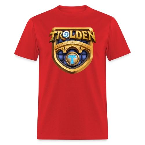 troldenlogowithtfin - Men's T-Shirt