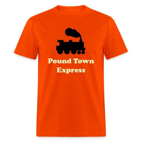 pound town - Men's T-Shirt