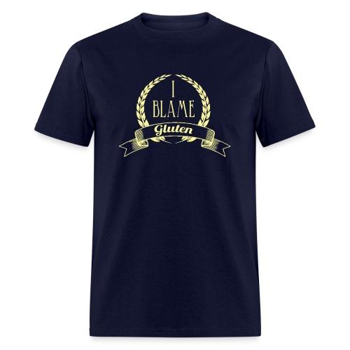 I Blame Gluten - Men's T-Shirt