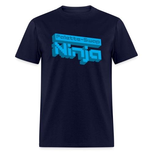 3dlogo blue - Men's T-Shirt