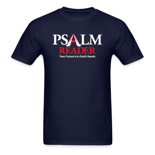 Psalm Reader - Men's T-Shirt