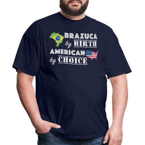 Brazuca and American - Men's T-Shirt