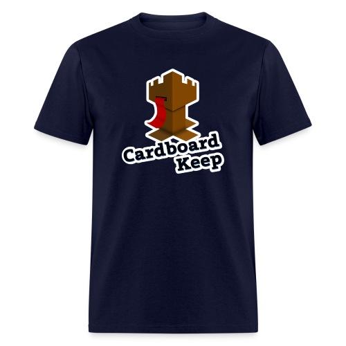 Cardboard Keep Dark Logo - Men's T-Shirt