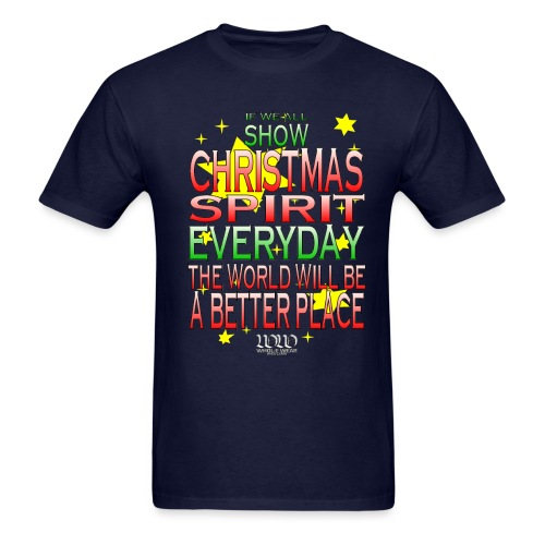 Christmas Spirit - Men's T-Shirt