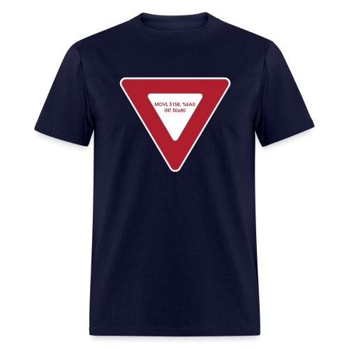 yield shirt white - Men's T-Shirt