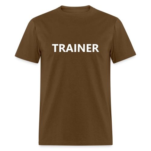 Trainer - Men's T-Shirt