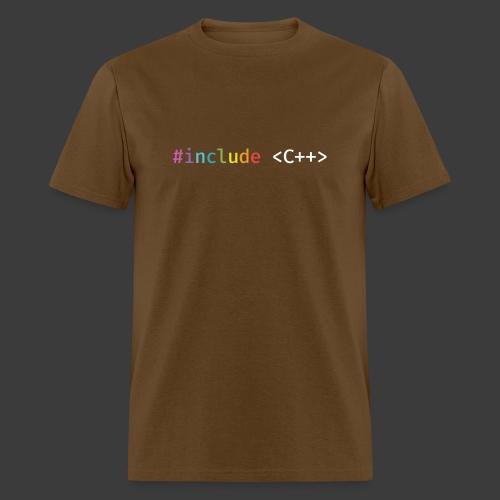 Rainbow Include C++ - Men's T-Shirt