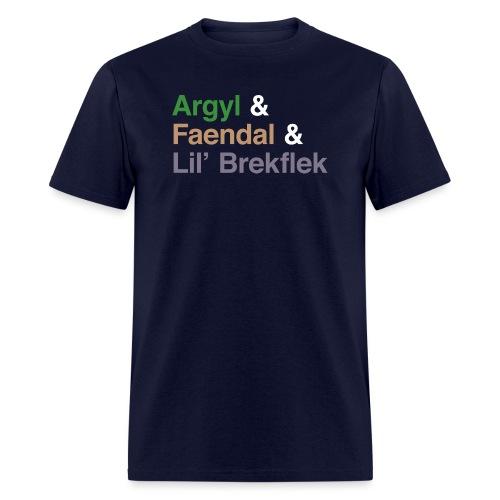 argyl and friends - Men's T-Shirt