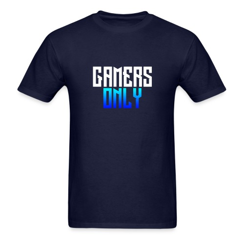 Gamers only - Men's T-Shirt