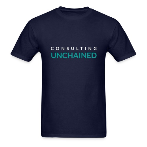 Consulting Unchained - Men's T-Shirt