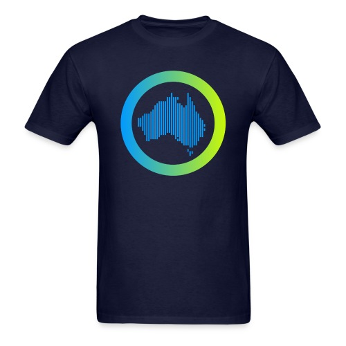 Gradient Symbol Only - Men's T-Shirt
