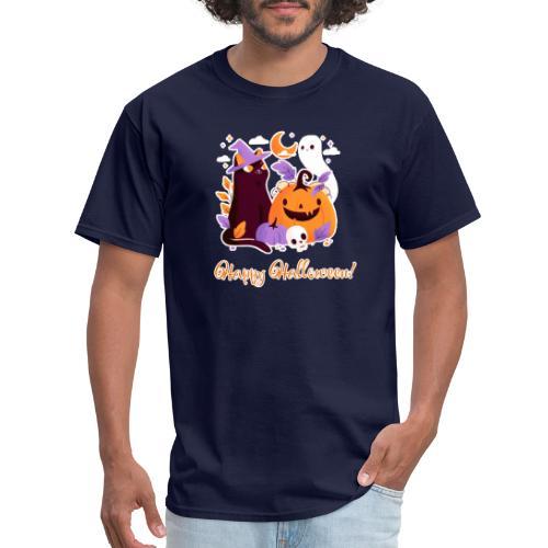 Halloween happy - Men's T-Shirt