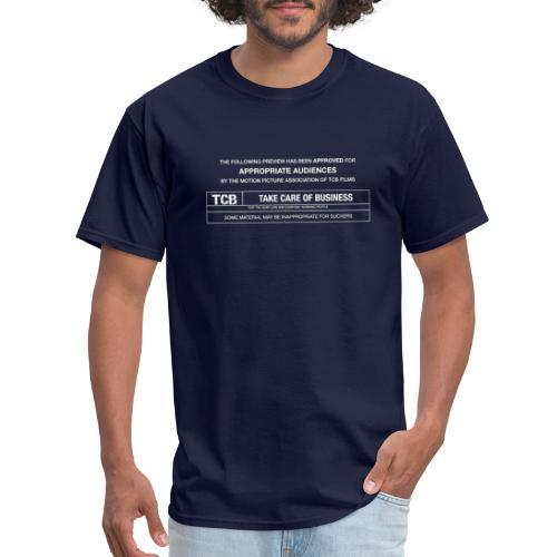 TCB Films Disclamer - Men's T-Shirt