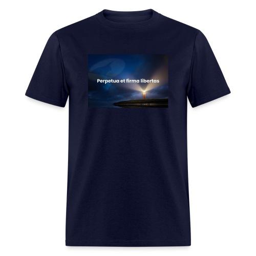 Perpetua et firma libertas - Men's T-Shirt