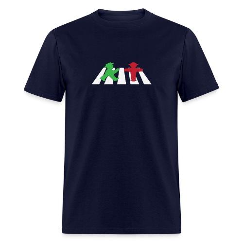 ampelmannchen on crosswalk - Men's T-Shirt