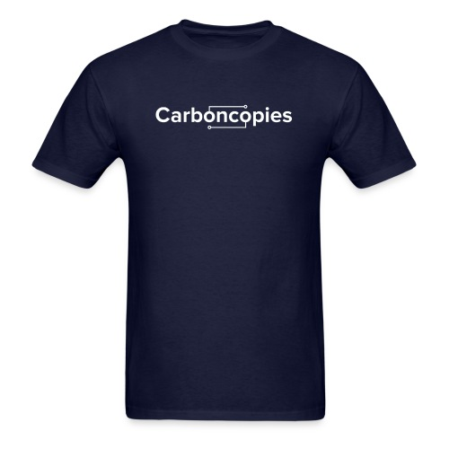 Carboncopies Logo T-Shirt - Men's T-Shirt