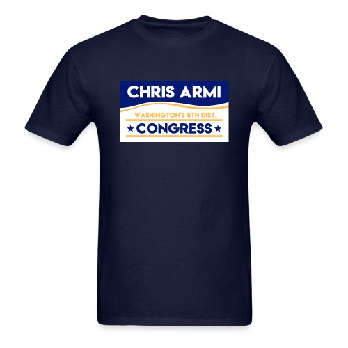 Chris Armi Sign - Men's T-Shirt