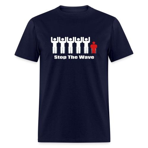 Stop The Wave - Men's T-Shirt