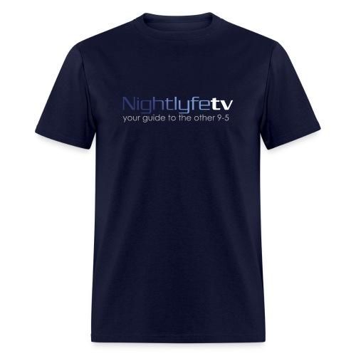 NTV Logo Full - Men's T-Shirt