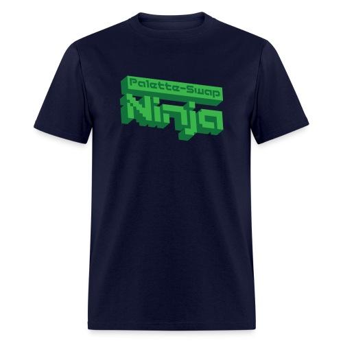 3d logo green - Men's T-Shirt