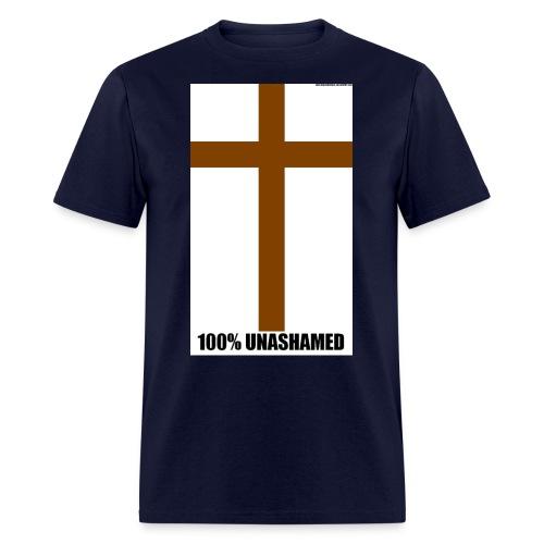 100 UNASHAMED - Men's T-Shirt