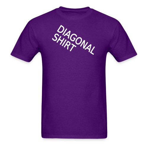 diagonalshirt2 - Men's T-Shirt