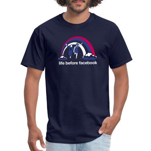 Life Before Facebook - Men's T-Shirt