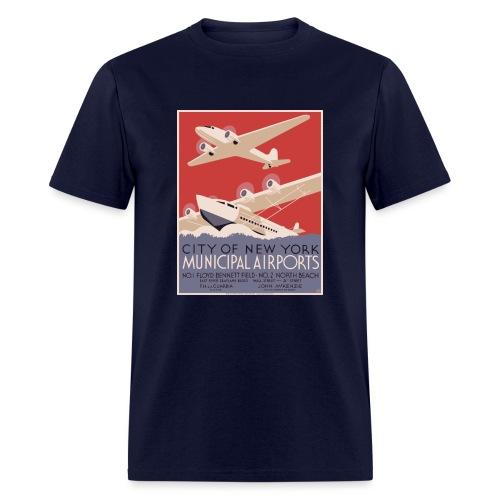 New York City Municipal A - Men's T-Shirt