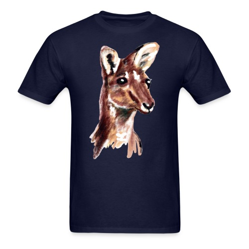 kangaroo face - Men's T-Shirt