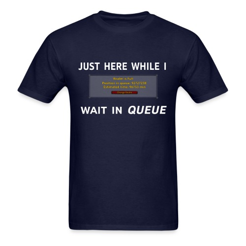 Classic Queue Shirt - Men's T-Shirt