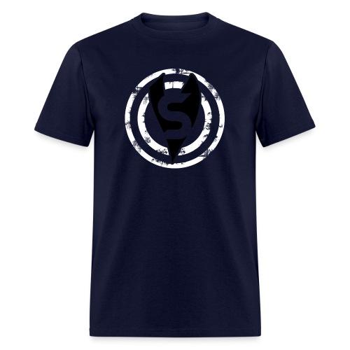 Supervixen-Bullseye-BW - Men's T-Shirt