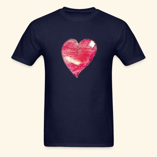 coeur brisé - Men's T-Shirt