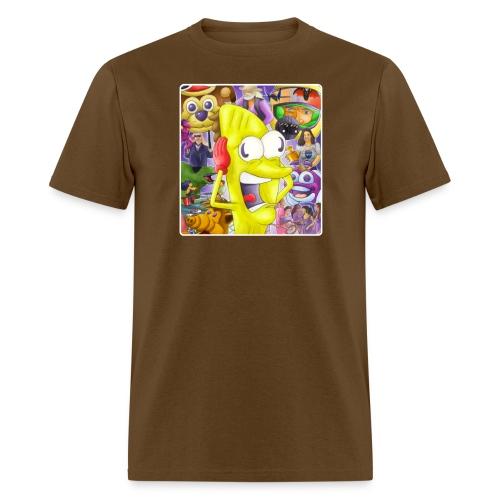 tacomanplays3 png - Men's T-Shirt