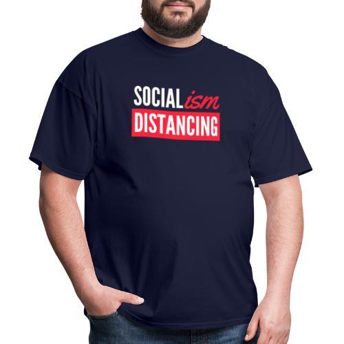 SOCIALism DISTANCING - Men's T-Shirt