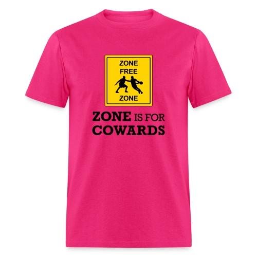 zoneisforcowards - Men's T-Shirt