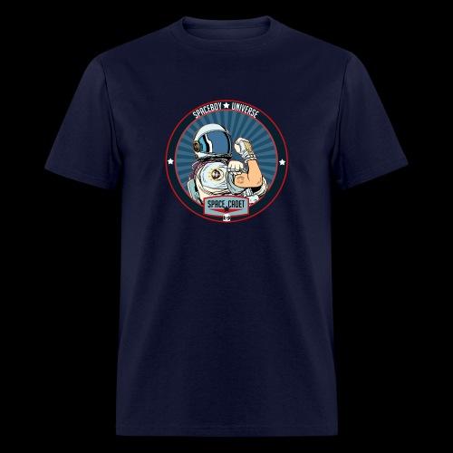 Space Cadet Can Do Badge - Men's T-Shirt