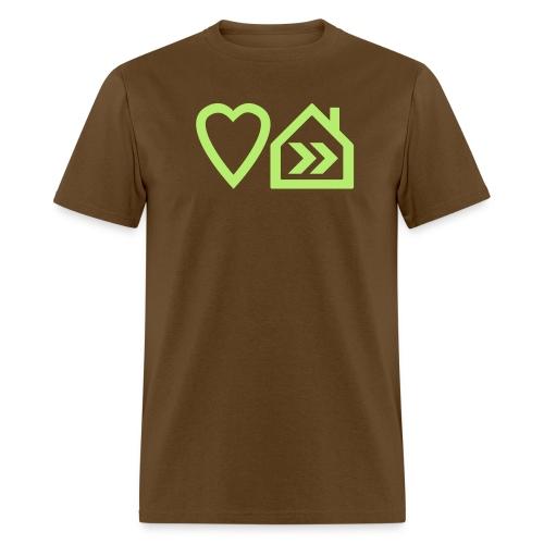 Heart House Music - Symbolic Design 2 - Men's T-Shirt