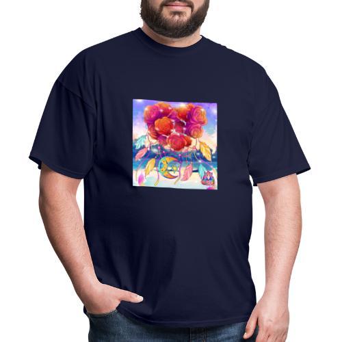 Roses of Love - Men's T-Shirt