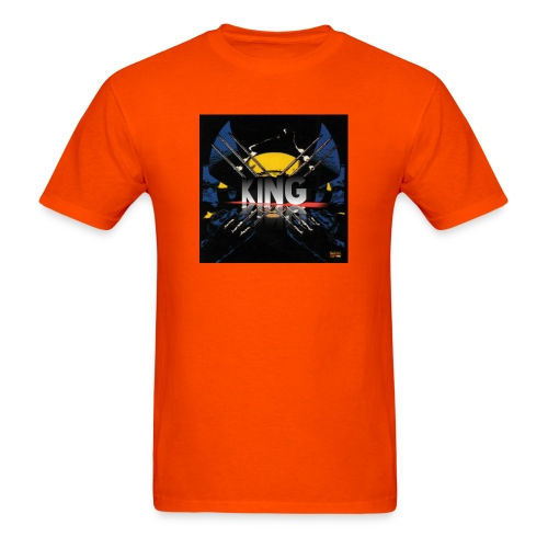 ones wolverine was a king!! - Men's T-Shirt