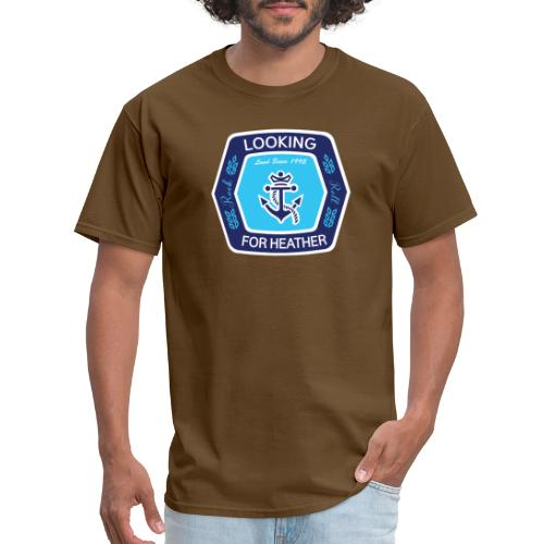 Looking For Heather - Stock Logo - Men's T-Shirt