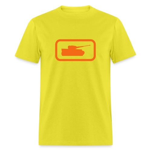 Tank Logo - Multi-Color - Axis & Allies - Men's T-Shirt