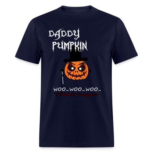 Daddy Pumpkin Funny Halloween T-shirt - Men's T-Shirt