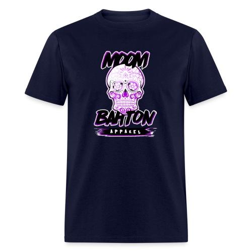 Sugar Skull Purple - Men's T-Shirt