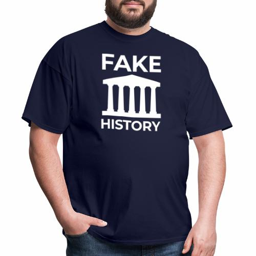 Fake History: Colonial Style Buildings Worldwide - Men's T-Shirt
