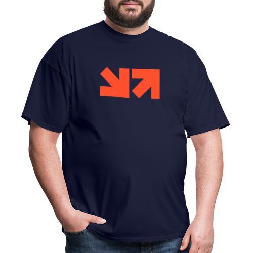 MinnMax Orange Logo - Men's T-Shirt