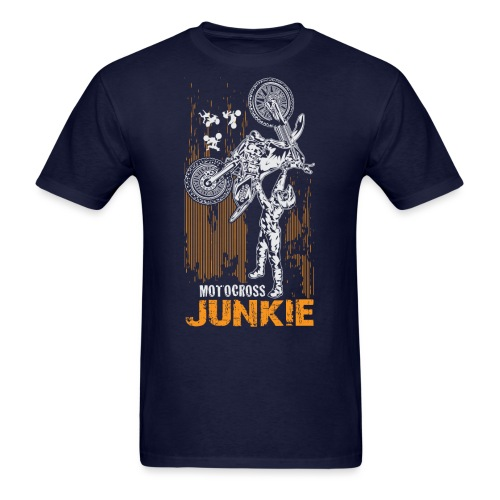 Motocross Junkie - Men's T-Shirt