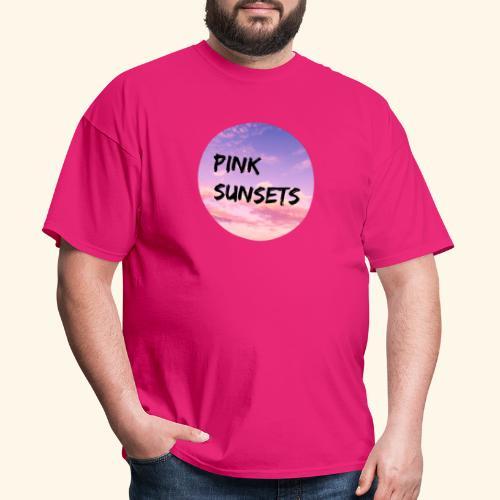 Pink Sunsets - Men's T-Shirt