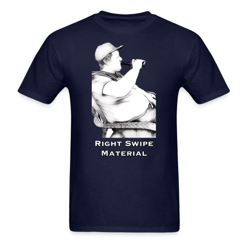 Right Swipe Material - Men's T-Shirt